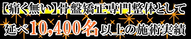 藤枝市で痛く無い骨盤のゆがみの専門整体として延べ8000人以上の方のゆがみを改善してきました。
