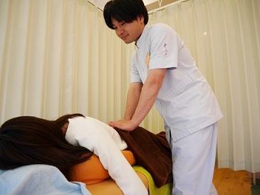 筋肉のゆがみ調整・血行促進